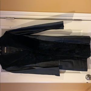 Bebe leather trench